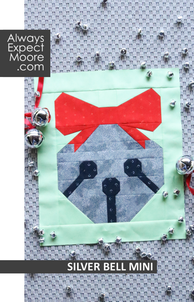 Silver Bell Mini Quilt