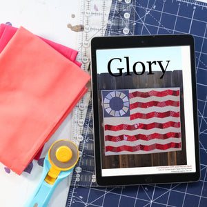Glory - Flag Quilt