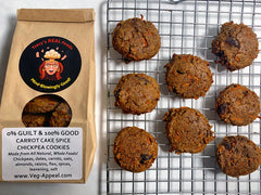 Carrot Cake Spice Chickpea Cookies - Tracy's REAL Foods
