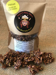 Raw & Sprouted Buckwheat Granola - COCONUT CACAO CRUNCH