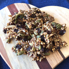 Cinnamon & Date Crunch Buckwheat Granola - Tracy's REAL Foods