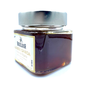 Pure Nigella honey - Habba sawda 250g - Beelixir Rare Honey Mad Honey