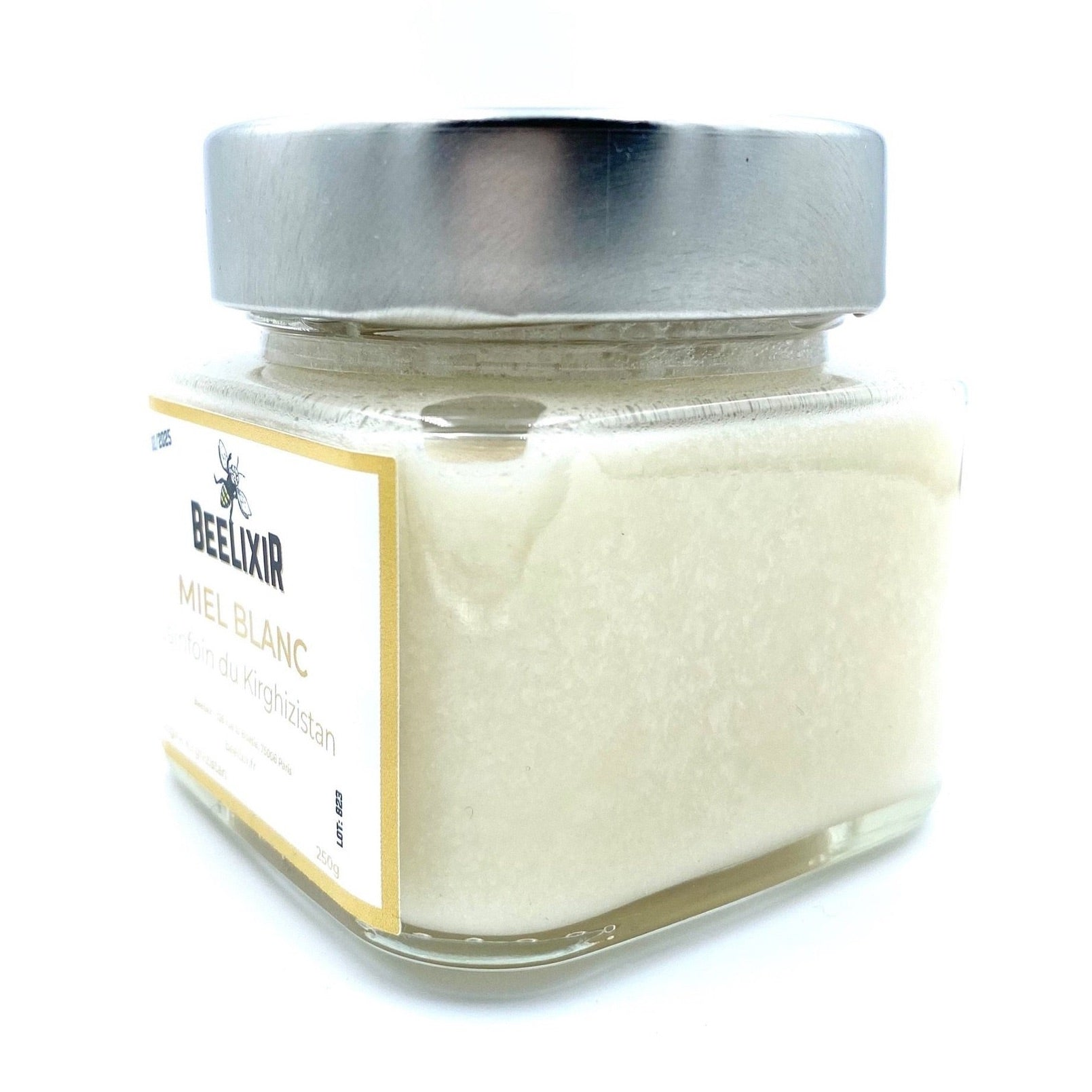 White Honey from Kyrgyzstan - Sainfoin honey 250g - Beelixir Rare Honey Mad Honey