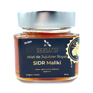 Yemen's Jujube Royal Honey - SIDR Maliki 250g - Beelixir Rare Honey Mad Honey
