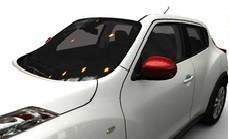 Nissan Juke (F15E) Mirror Covers, Force Red 2010-2014