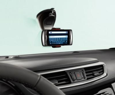 Nissan Smartphone Holder 360 Grip (Black) Big