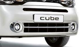 Nissan Cube (Z12) Chrome Lower Fascia Accent