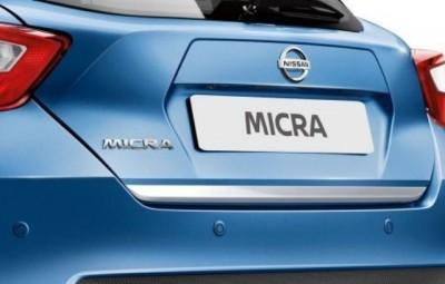 Nissan Micra (K14FR) Chrome, Trunk Lower Finisher