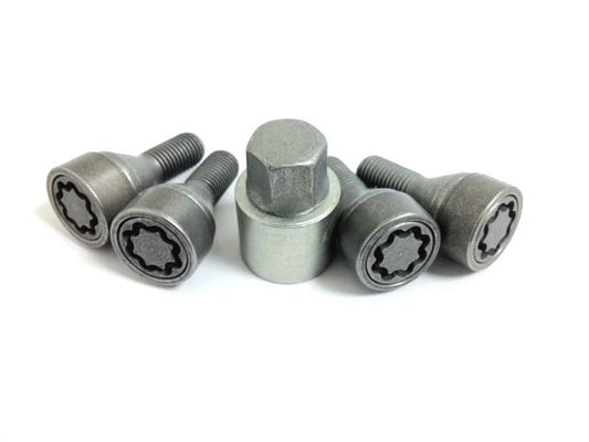 Nissan Micra inc. C+C/Note Locking Wheel Nuts