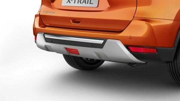 Nissan X-Trail (T32C) Rear Styling Plate - w/o towbar & with parking sensors