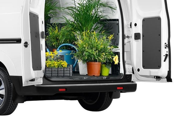 Nissan NV200/e-NV200 Cargo Lower French Door Protection (with windows)