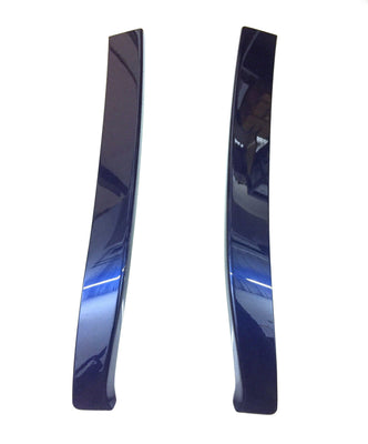 Nissan LEAF (ZE1E) Rear Spoiler Finishers, Blue