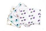 Safari Friends Baby Muslins Squares - Set of 4 Size 60cm x 60cm