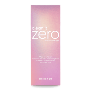 Clean it Zero Foam Cleanser
