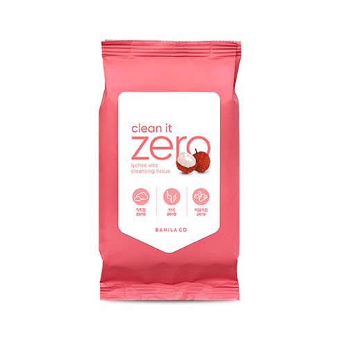 Clean It Zero Lychee Vita Cleansing Tissue