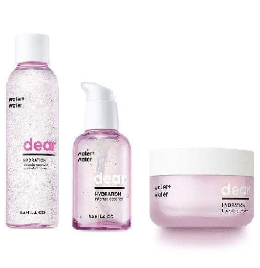 Dear Hydration Dry Skincare Routine bundle