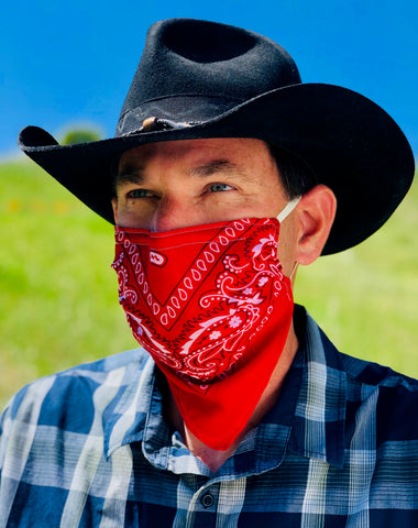 Bandito Red Face Mask