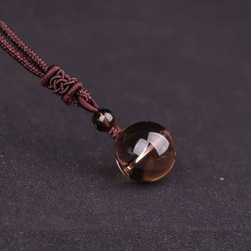 Natural Stone Crystal trendy Pendant Necklace