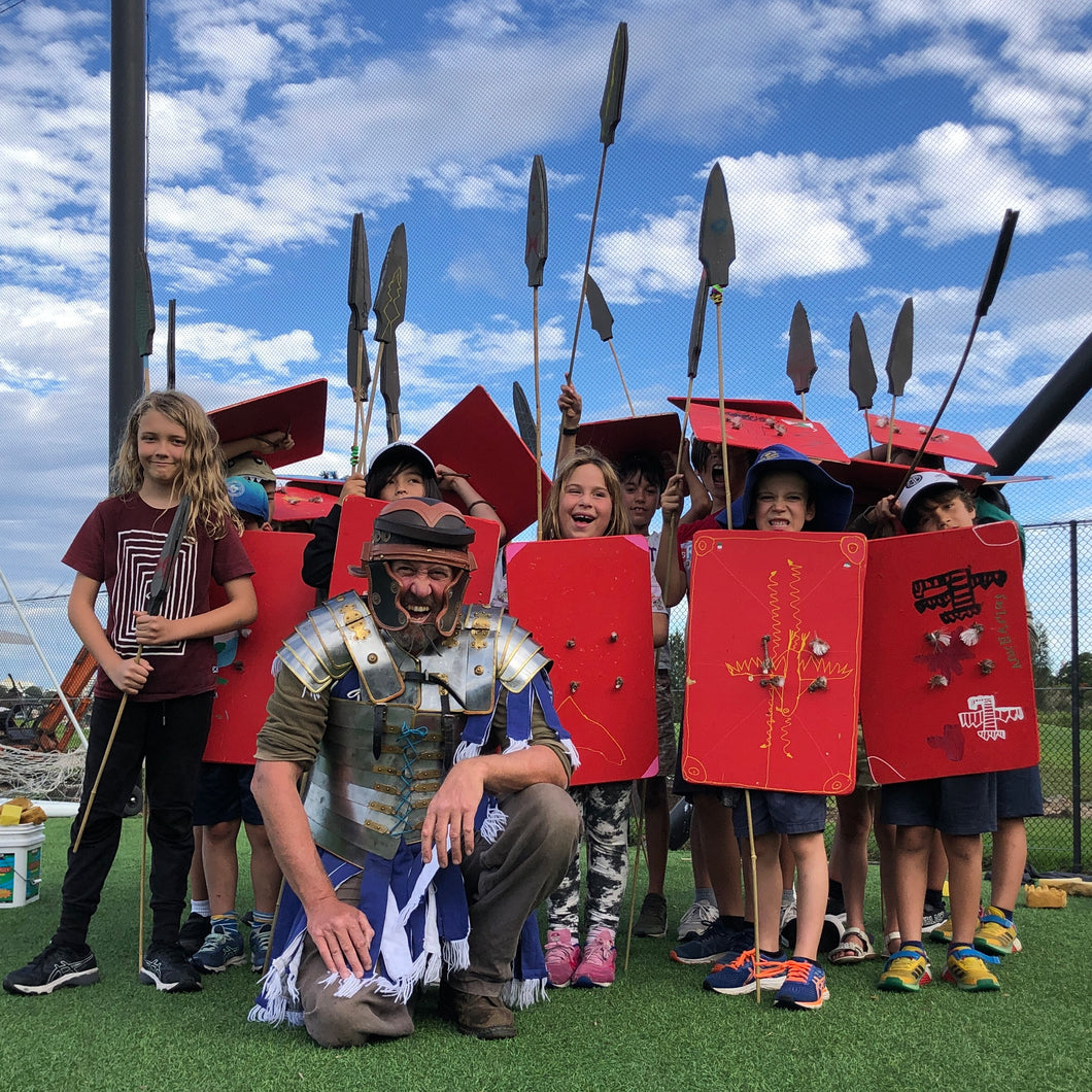 Ravaging Romans | School Holidays Workshop | 2021