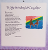 Calendar 2021 - Daughter (Blue Mountain)