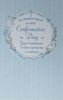 Confirmation Card - Special Day To Celebrate