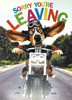 Sorry You're Leaving Card - Crazy Dog On The Road (Large - A4 Size)