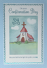 Confirmation Card - Church With Red Roof