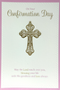 Confirmation Card - May The Lord Watch Over You (Girl)