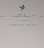 Confirmation Card - With Love