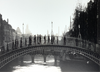 Catherine Dunne Card - Ha'penny Bridge, Black & White