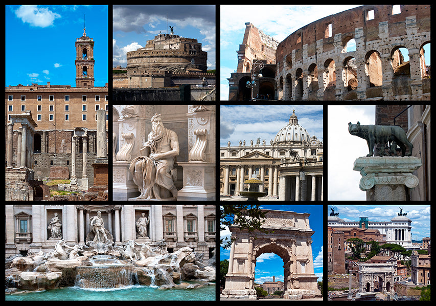 10323508 Rome Collage, available in multiple sizes