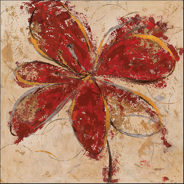 13163gg Floral Gesture II, by Katrina Craven, available in multiple sizes