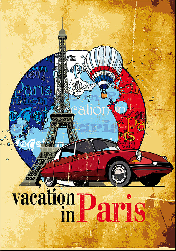 13345056 Paris Vacation , available in multiple sizes