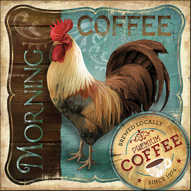 13876gg Morning Coffee, by Conrad Knutsen, available in multiple sizes