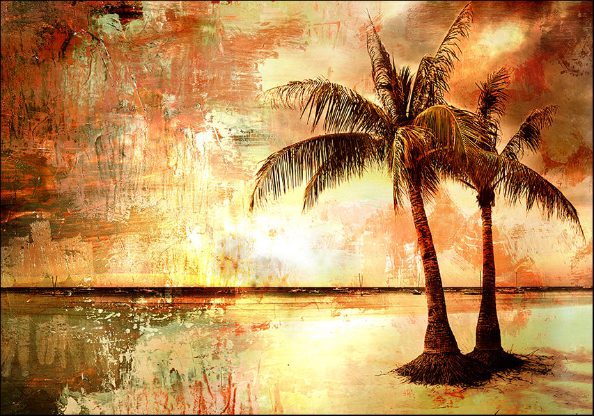 13916138 Abstract Palm trees, available in multiple sizes