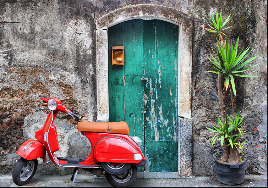 14031617 Red Vespa , available in multiple sizes