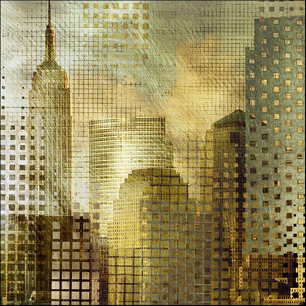 14220gg Empire State Building, by Katrina Craven, available in multiple sizes