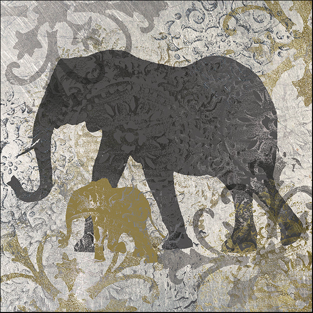 14592gg Elephants Exotiques, by Katrina Craven, available in multiple sizes