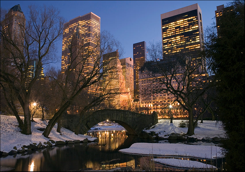 15377205 Winter Central Park NY, available in multiple sizes