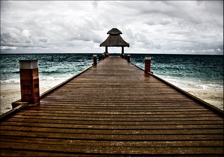 15829708 pier on the water , available in multiple sizes