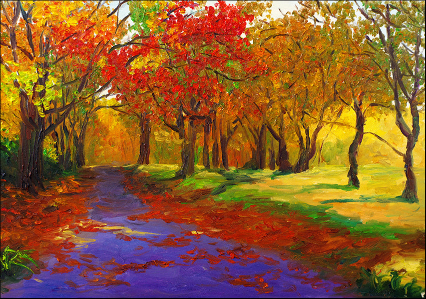 16524886 Colorful trees , available in multiple sizes