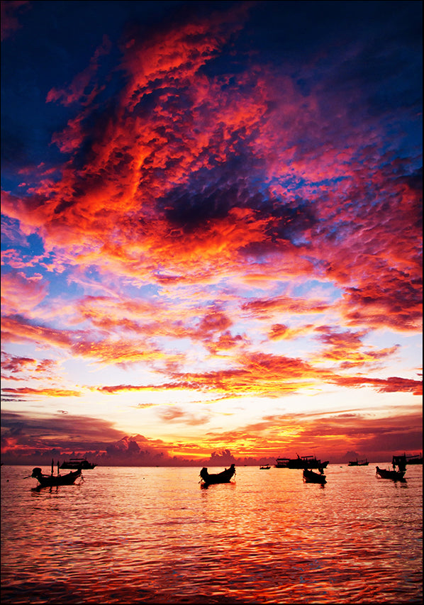 17143939 Sunset over the Ocean, available in multiple sizes