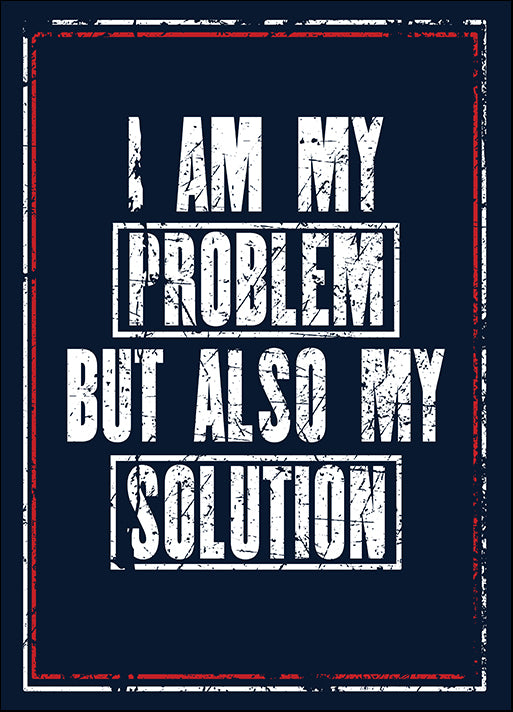 177978880 I Am My Problem But Also My Solution,  available in multiple sizes