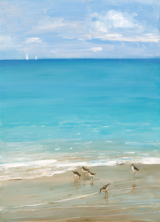 17991gg Sunday at the Shore II, by Sally Swatland, available in multiple sizes