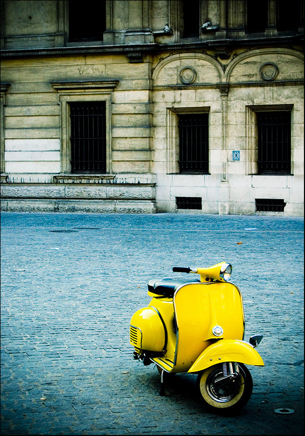 1852841 Yellow Vespa, available in multiple sizes