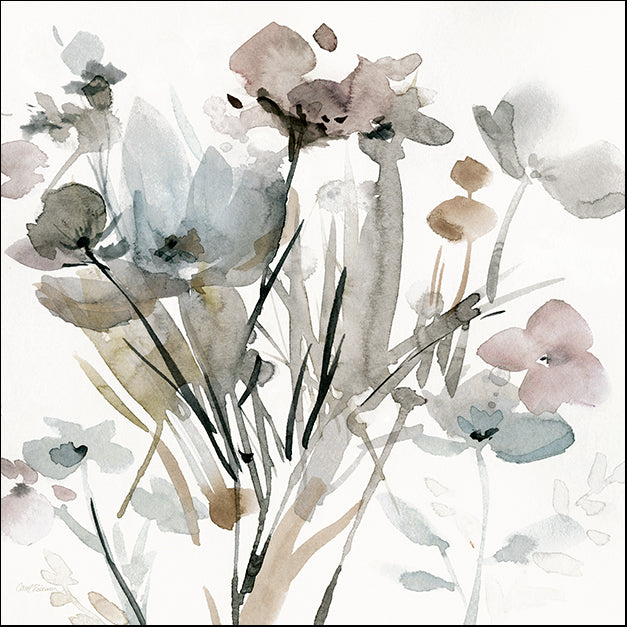19137gg Dainty Blooms I, by Carol Robinson, available in multiple sizes