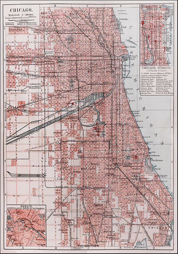 23262502 Map of Chicago, available in multiple sizes