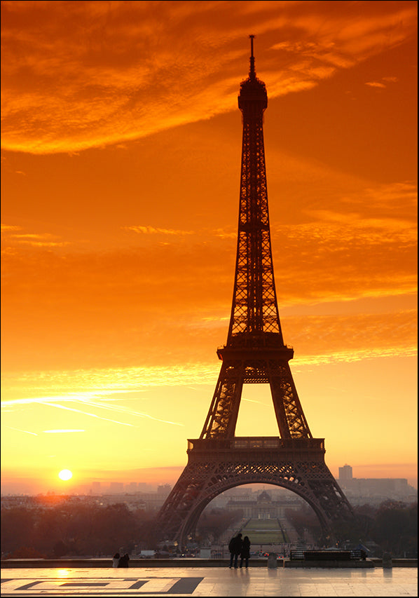 3785628 Paris France Eiffel Tower at Sunset, available in multiple sizes