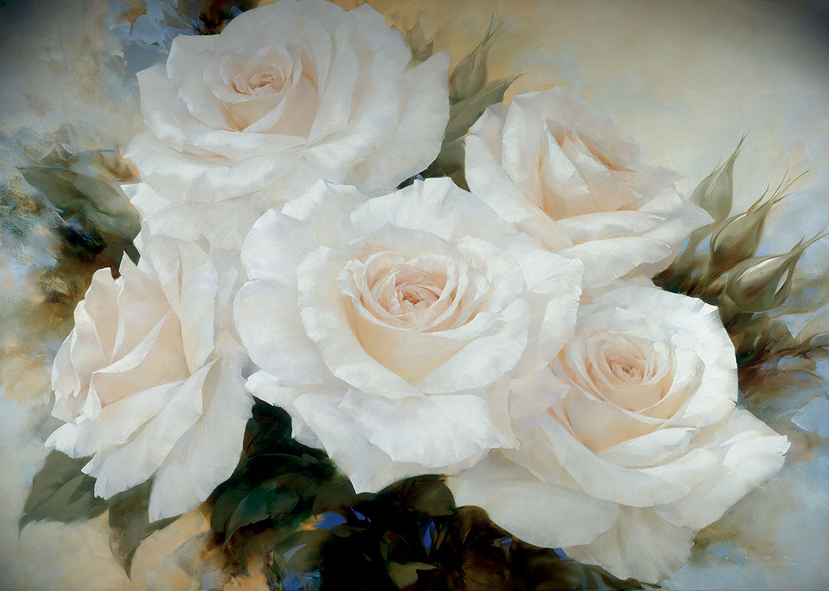 74020 MA White Roses III, available in multiple sizes
