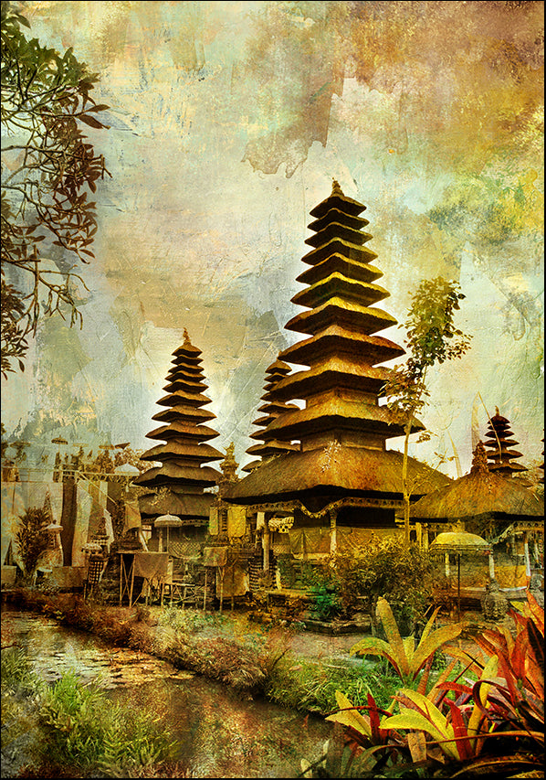7645285 Balinese Temple, available in multiple sizes